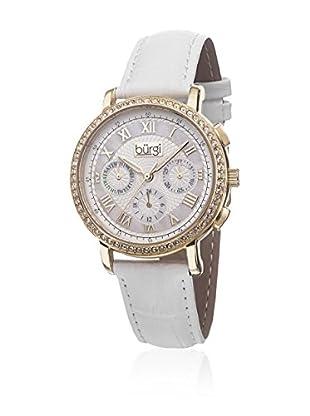 Burgi Uhr mit Schweizer Quarzuhrwerk BUR087YGW 38 mm