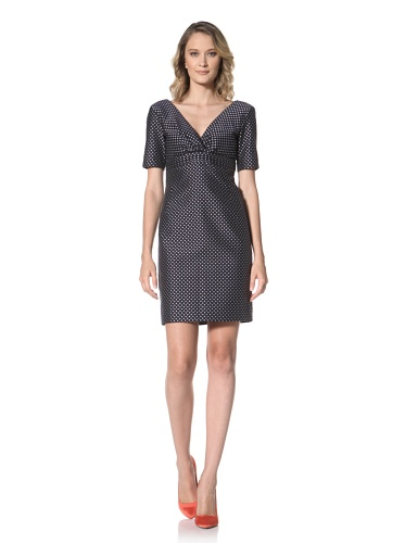 Paul & Joe Women's Horizon V-Neck Empire Waist Dress (Off white)
