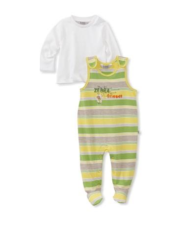 KANZ Baby 2-Piece Romper Set (Stripe)