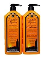 Agadir Argan Oil Daily Shampoo + Conditioner Set 33.8oz 5 tubes