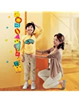 Elephant Animal Height Chart Measure Removable Kids Room Wall Sticker