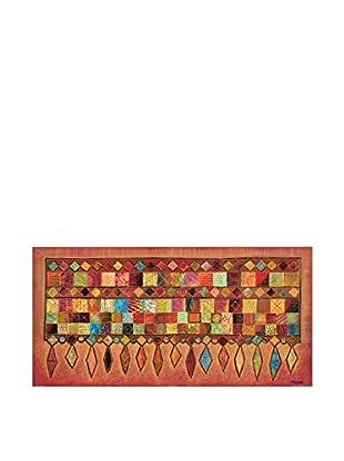 Artopweb Wandbild Maugeri Tapisserie II 50x100 cm mehrfarbig