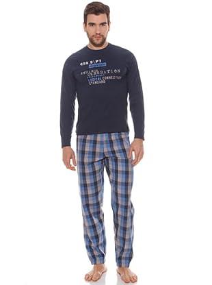 Abanderado Pijama Pijamastrange Generation (Navy / Poplin)