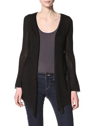Acrobat Women's Open Cardigan (Black)