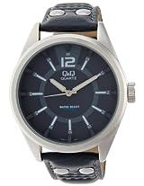 Q&Q Standard Analog Blue Dial Men's Watch - Q736J312Y