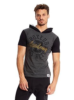 Boxeaur Des Rues T-Shirt Hood Sleeves Contrast Color