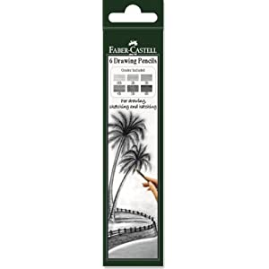 Faber - Castell Graded Drawing Pencil Set (Pack Of 6)