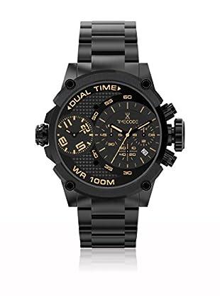 Timecode Quarzuhr Man Albert 1905 schwarz 46 mm