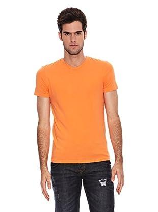 Six Valves Camiseta Manga Corta Flúor (Naranja)