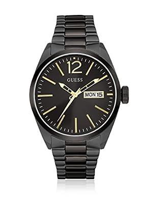 Guess Reloj con movimiento mecánico japonés Man Vertigo Black Negro 45 mm
