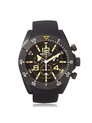 MOMODESIGN Men's MD278BK31 Pilot Black/Orange Stainless Steel Watch