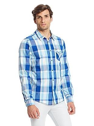 Adidas Camisa Hombre Plaid