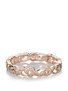 Catherine Angiel Rose Gold Flower Tribal Band