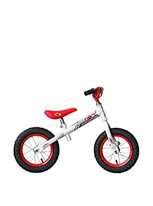 ZÜM SX Metal Balance Bike, White/Red