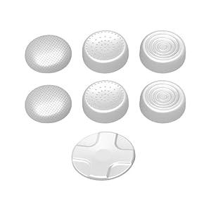 CYBER・アナログスティックカバーセット (Wii U用) ホワイト