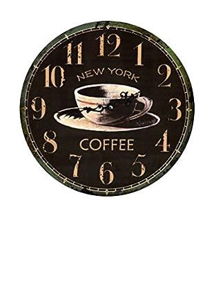 LO+DEMODA Wanduhr Ny Coffee