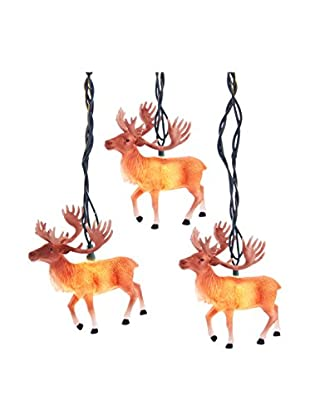 Kurt Adler Reindeer with Antlers Light Set
