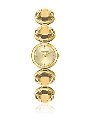 K&Bros  Reloj 9161 (Dorado)