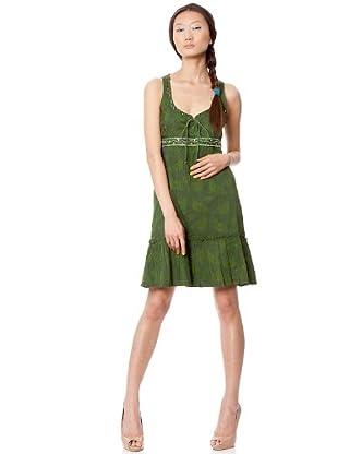 Custo Vestido Lynch (Verde)