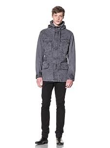 EDUN Men's Military Coat (Smog)