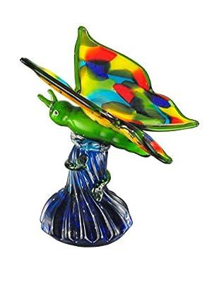 Dale Tiffany Butterfly Figurine, Multi