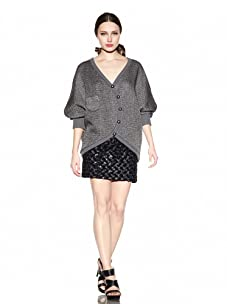 Rebecca Minkoff Women's Stella Sweater (Grey)