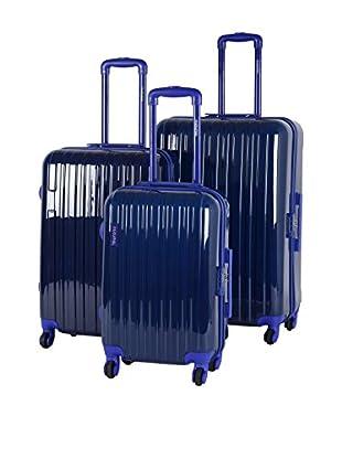 MURANO Set de 3 trolleys rígidos CUE
