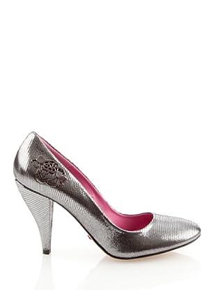 Fornarina PIFGI7158WE13 - Zapatos para mujer (Plateado)