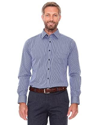 Cortefiel Camisa Rayas (marengo)