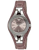 Emporio Armani Analog Rose Gold Dial Women's Watch - AR7382
