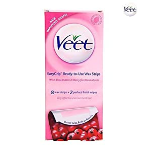 Veet Ready To Use Wax Strips - Normal