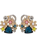 Jewel Touch Metal Stud for Women (JWLB80251ER)