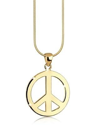 Elli Kette Peace gold
