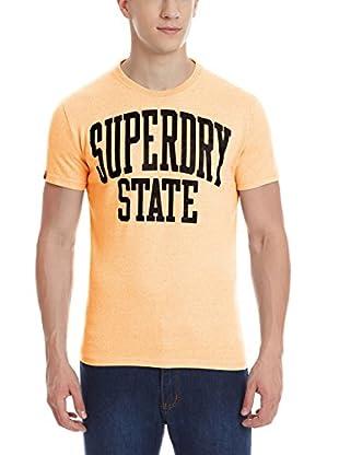 Superdry T-Shirt Manica Corta State Fluro