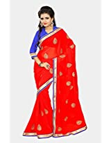 Chirag Sarees Designer Partywear Bridal Marriage Collection 394-RED