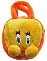 Tickles BIRD HAND BAG Soft Toy Plush Kids Birthday Gift 20 cm