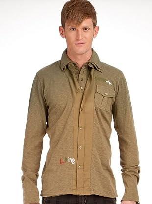 Custo Camisa (Verde Musgo)