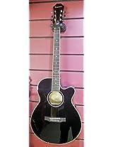 Epiphone PR-4E Semi Acoustic Guitar Black