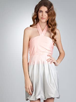 Naf Naf Vestido (rosa degradado)