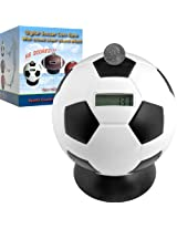 Soccer Ball Digital Coin Counting Bank by TGT [80-TY78A] -