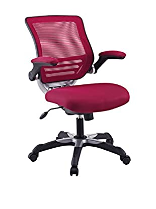 Modway Edge Office Chair, Burgundy
