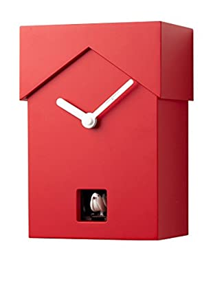 Diamantini & Domeniconi Reloj de Cuco Cucubo Rojo