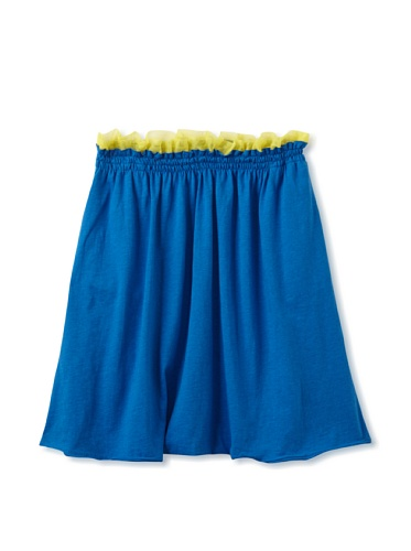 kicokids Girl's Knit Dhoti Pants (Surf)
