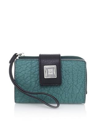 OH by Joy Gryson Women's Tech Wallet, Peacock