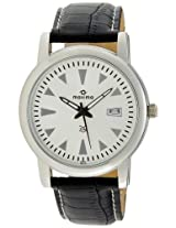Maxima Attivo Analog Silver Dial Men's Watch - 25721LMGI