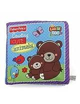 Baby Kids Preschool Activity Animal Cloth Book Soft Plush Doll (Style:#01)