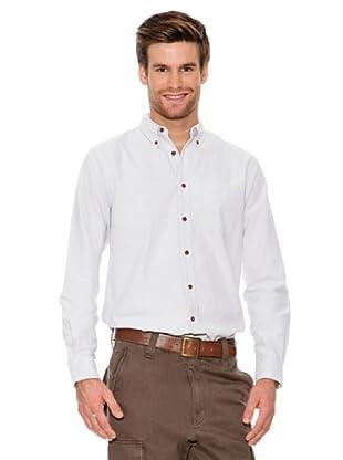 Dockers Camisa Oxford con Botones En Cuello (gris claro)