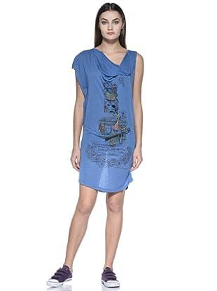 Zu Element Vestido Greensleeves (Azul)