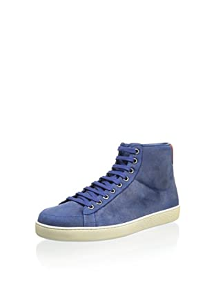 Gucci Men's Hightop Sneaker (Blue)