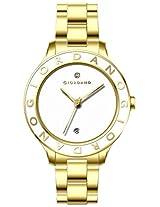 Giordano Analog White Dial Women's Watch - 2689-33